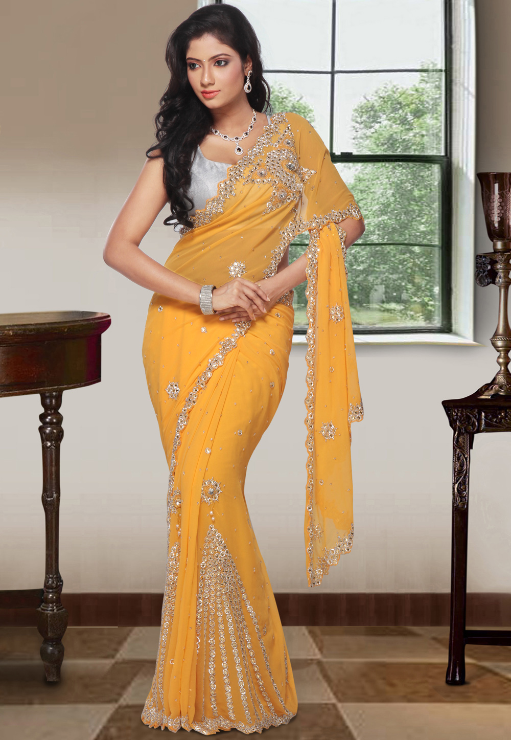 Dress Like A Diva In Bollywood Style Sarees Indian Fashion Trend