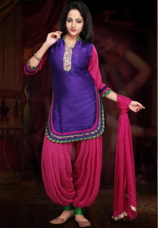 Look Peppy in Funky Punjabi Suits